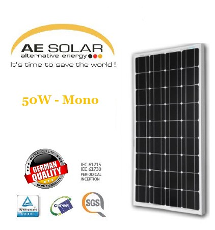 AE Solar 100Watt Mono-crystalline in Pakistan | Microsolution