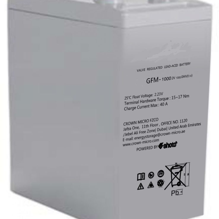 2V 500Ah Dry Cell Shoto GFM Sereis | Microsolution
