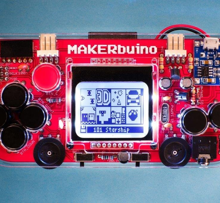 MAKERbuino Standard Kit in Pakistan | Microsolution