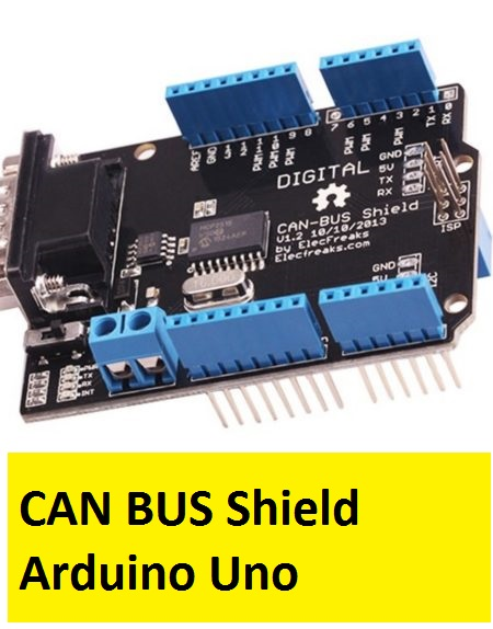 CAN BUS Shield Arduino Uno in Microsolution Hallroad Lahore