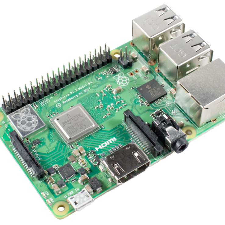 Raspberry Pi 3 – Model B+ – 1.4GHz Cortex-A53 with 1GB RAM | Microsolution