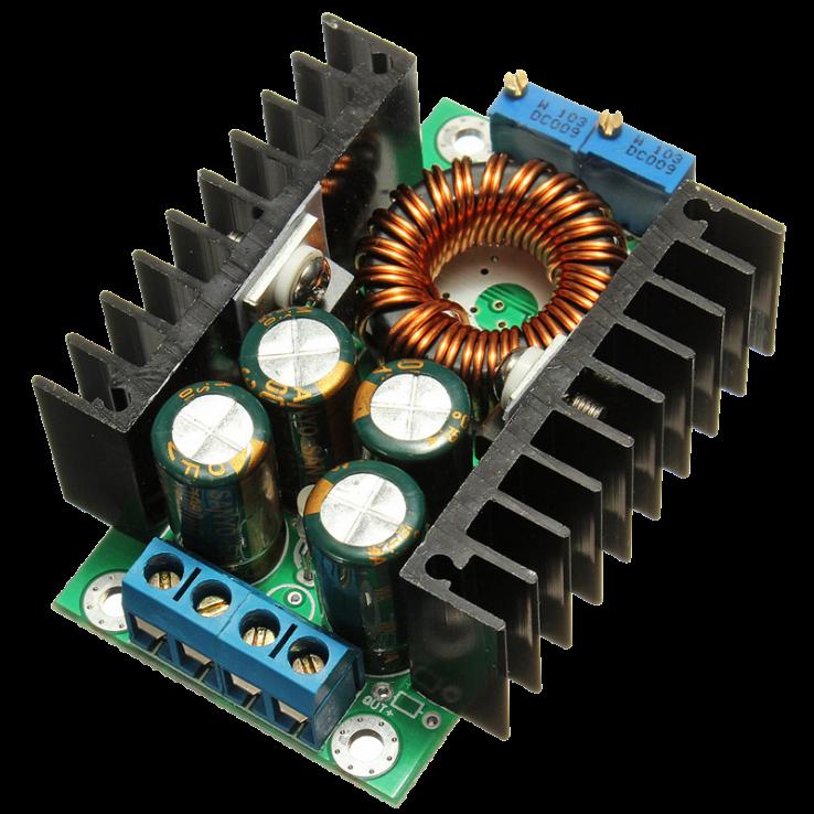 XL4016 PWM Adjustable Step-Down Board Power Supply Module in Pakistan