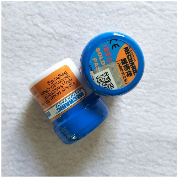 MECHANIC Solder Flux Paste Soldering Tin Cream Sn63/Pb37 XG-50
