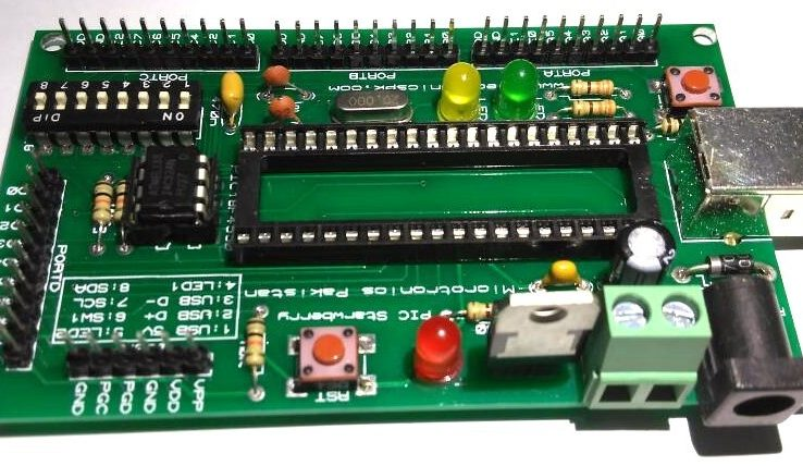 PIC Strawberry Microcontroller Development Board In Pakistan