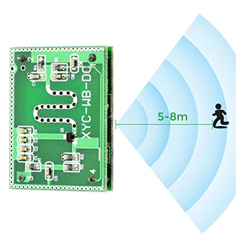 5.8GHZ Microwave Radar Motion Sensor Module In Pakistan