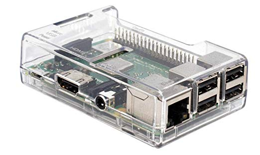 Clear Box Clear Case for Raspberry Pi Model 3 Model B and B+ | Pakistan