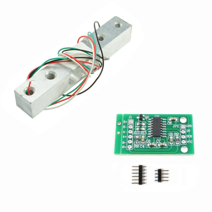 10KG Scale Load Cell Weight Weighing Sensor +HX711 Weighing Sensors AD Module