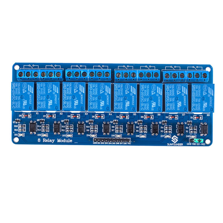 5V 8 Channel Relay Module Relay Board Relay Arduino Relay Module | Pakistan