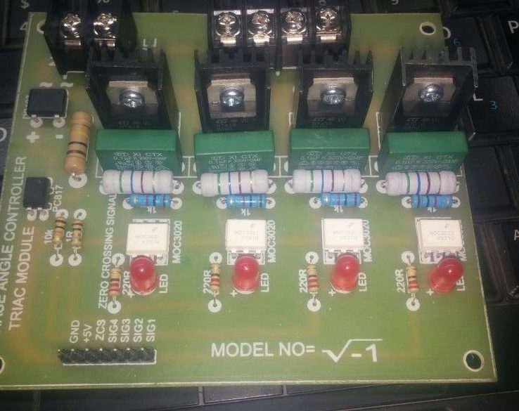 Arduino 4 Channel Triac Module With Zero Crossing Sensor in Pakistan