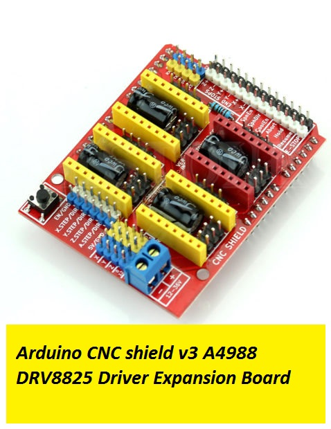 Arduino CNC shield v3 A4988 DRV8825 Driver Expansion Board in Lahore