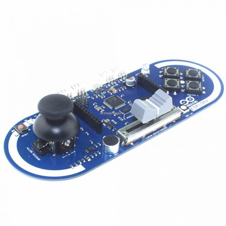 Arduino ESPLORA Joystick Photosensitive Sensor Board Support LCD | Pakistan