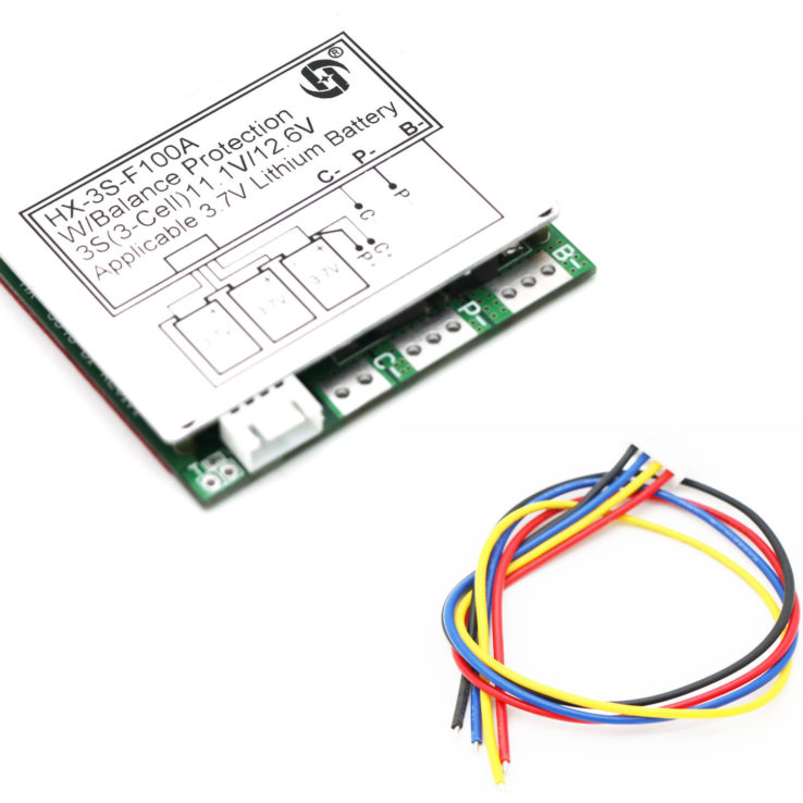 3S BMS 18650 LIPO BATTERY PROTECTION BOARD + BALANCE | Pakistan