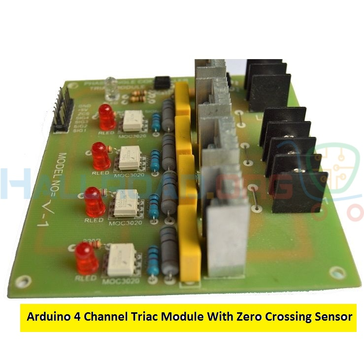 Arduino 4 Channel Triac Module With Zero Crossing Sensor in HallRoad Lahore
