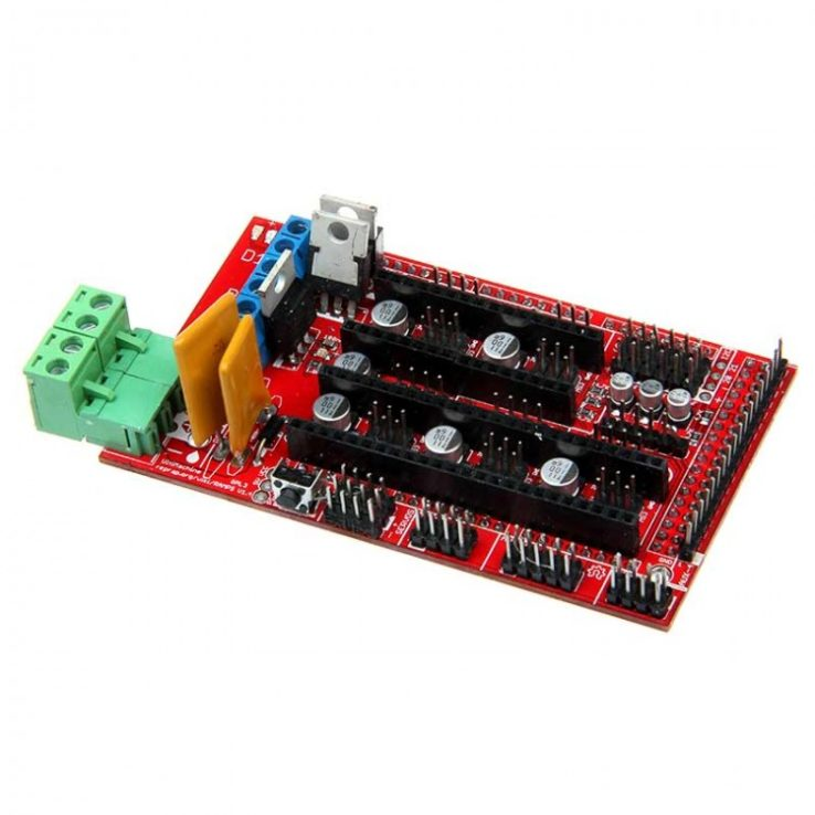 3D Printer Controller Board RAMPS 1.4 Arduino Mega Shield RepRap Prusa Model | Pakistan