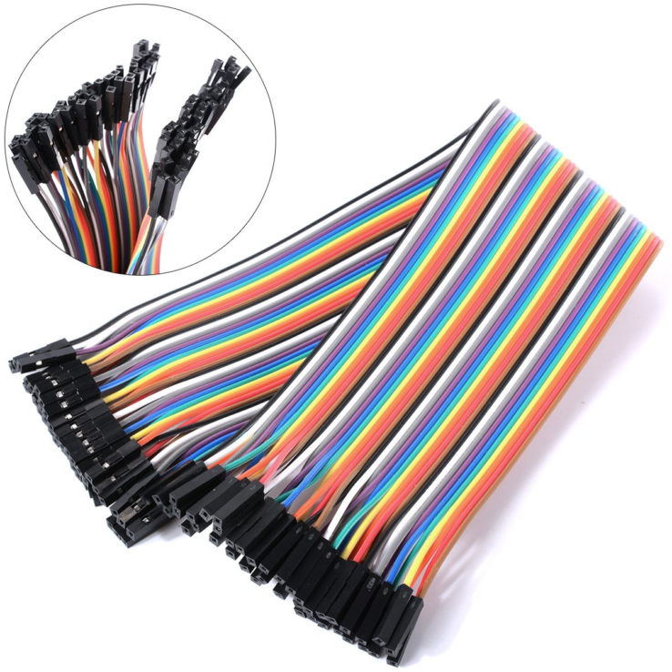 Pin To Pin Dupont 40 Pin 30cm Arduino Jumper Wire 12 Inch | Pakistan