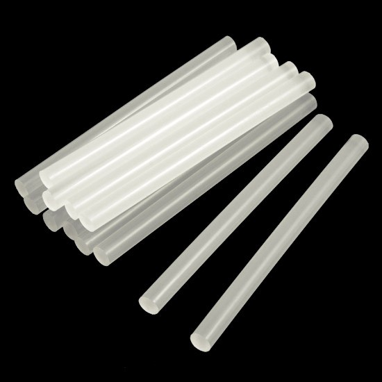 7mm Hot Melt Glue Sticks For Electric Glue Gun DIY Stick 20cm length | Pakistan