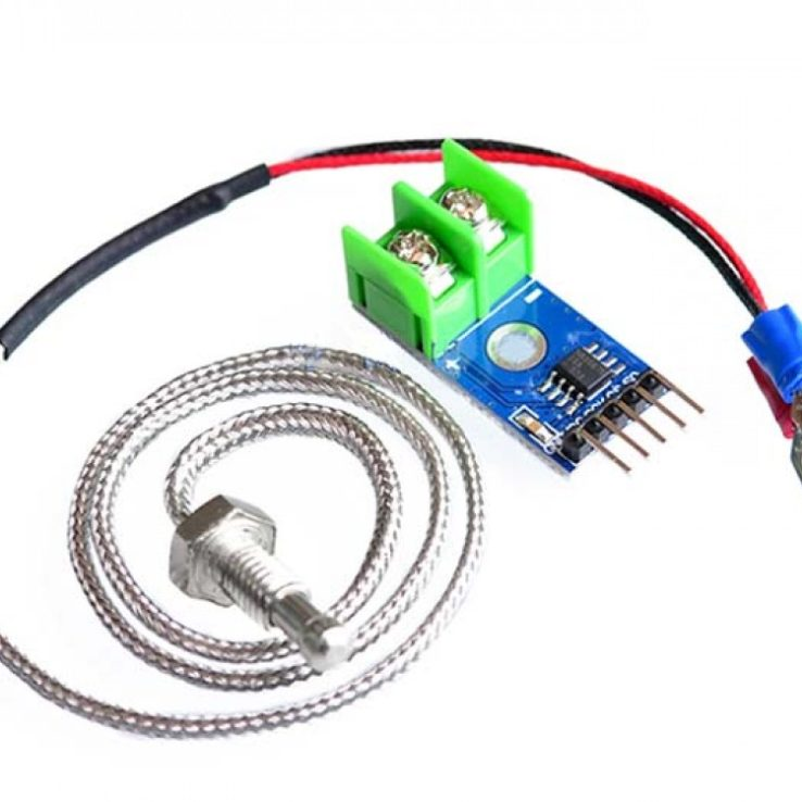 MAX6675 MODULE + K TYPE Thermocouple Sensor In Pakistan