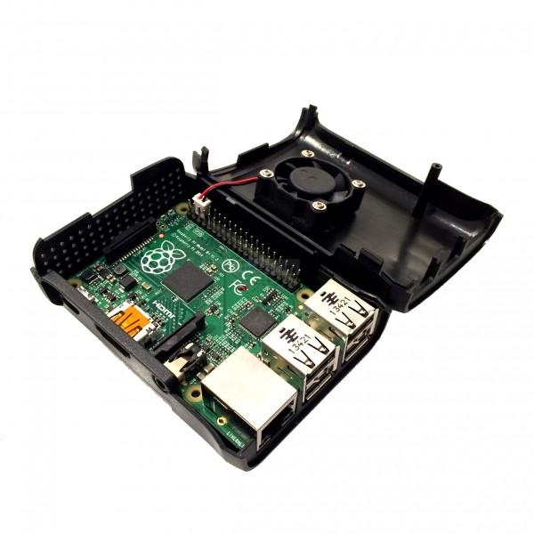 Raspberry Pi 3 B+ Case with Cooling Fan | Pakistan