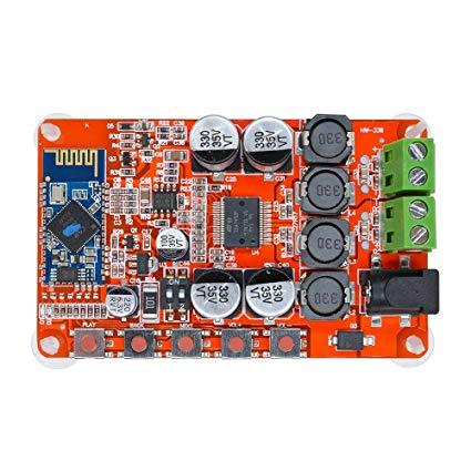TDA7492 50W+50W Wireless Bluetooth 4.0 Receiver Digital Audio Amplifier Board   Pakistan