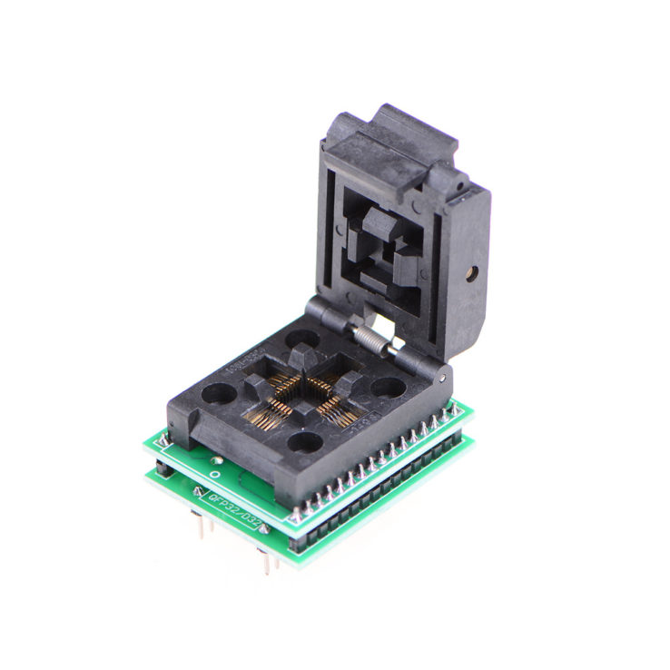 TQFP32 QFP32 LQFP32 TO DIP28 Adapter Socket | Pakistan