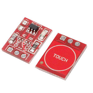 TTP223 Capacitive Touch Sensor Module in Pakistan