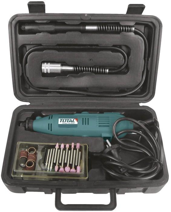 Total TG501032 Mini Flexible Shaft Drill Grinder 130W | Pakistan