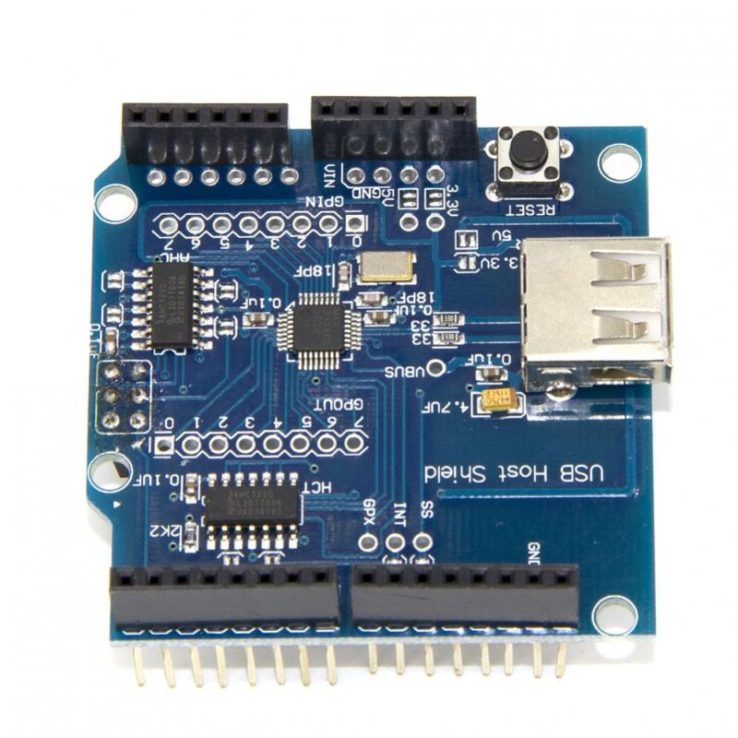 USB Host Shield for Arduino in Pakistan | Microsolution HallRoad Lahore