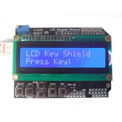 Arduino LCD Keypad Shield | Pakistan | Microsolution HallRoad Lahore