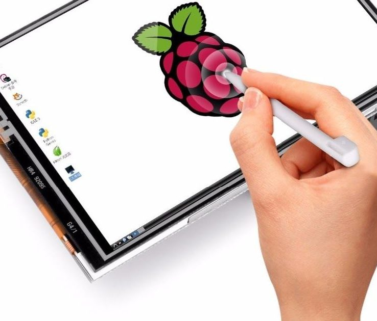 3.5 Inch 480×320 RGB TFT LCD Pixels Touch Screen with Touch Pen for Raspberry Pi | Pakistan