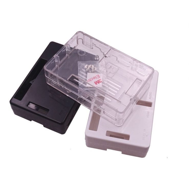 Raspberry Pi 3 Model B B Case Black ABS Plastics Cover Shell Bag Enclosure Computer Box | Pakistan