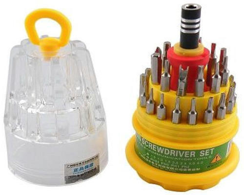 Jackly 31 In 1 Screw Driver Set With Toolkit in Pakistan