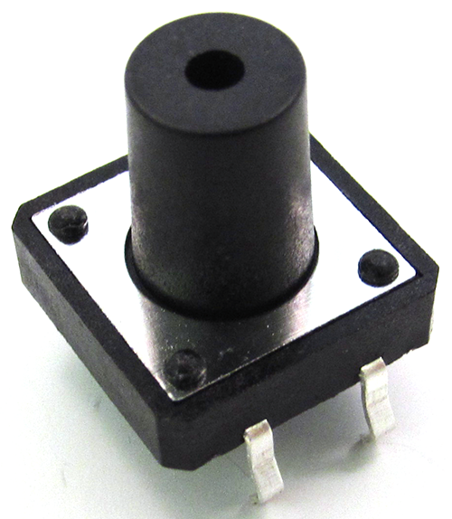 8mm knob 4 pin Basic Digital I/O: Slide Switch, Push Button | Pakistan