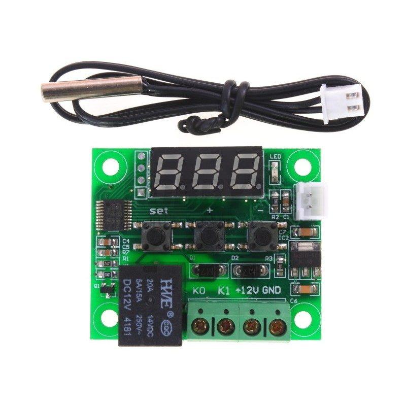 W1209 Temperature Controller in pakistan, W1209 microsolution lahore