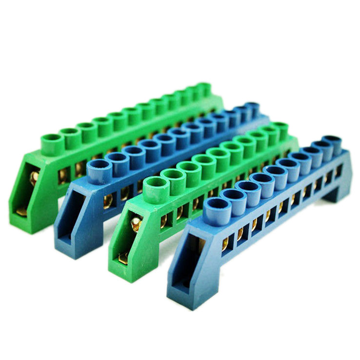 6PIN XP0812D Wire Connection Screw Terminal Strip Copper terminal Green | In Pakistan