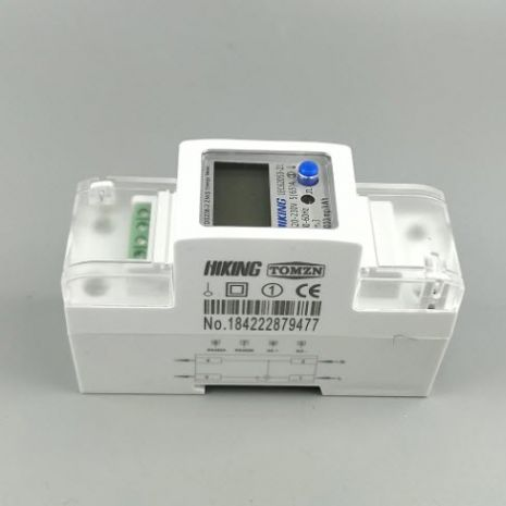 220V 230V 50HZ 60HZ Voltage Current of DDS238 2 ZN Single-Phase KWH Din Lane Watt Hour Power Meter with RS485 MODBUS RUT In Pakistan