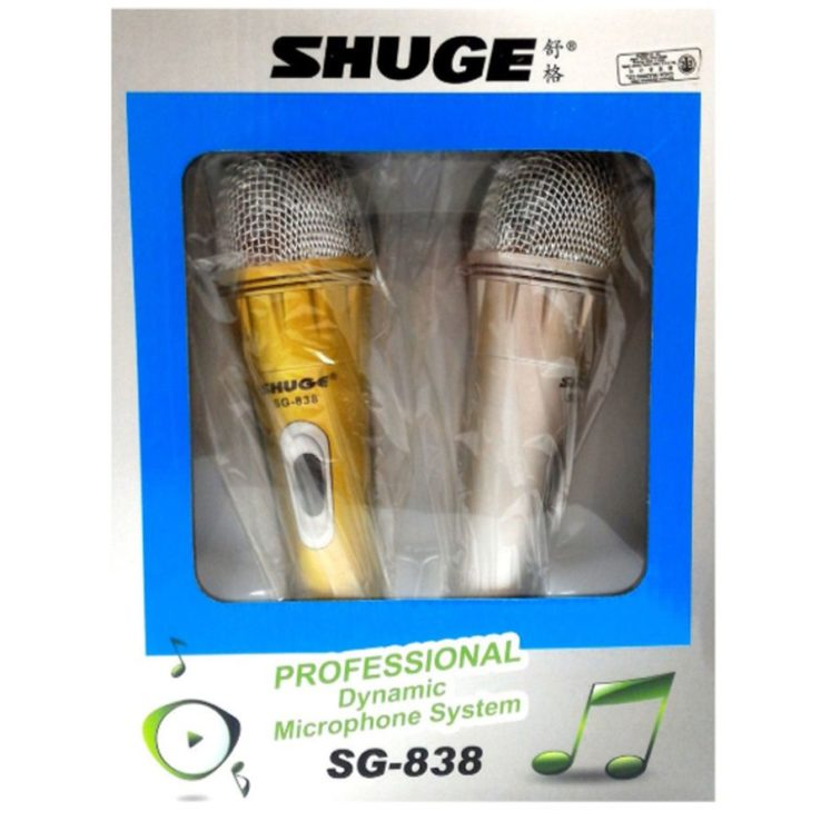 SHUGE SG-838 professional Dynamic Microphone System | In Pakistan