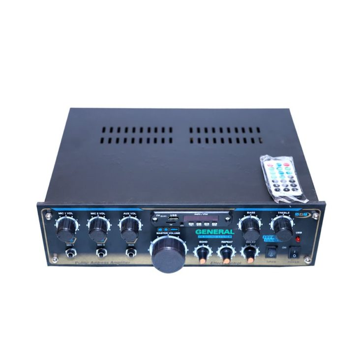 2 power general amplifier sunny 88 echo with mp3 AC/DC in Pakistan