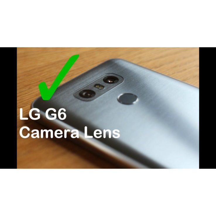 LG G6 Camera Glass Camera Lens