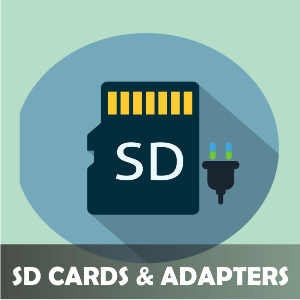 SD CARDS & ADAPTERS