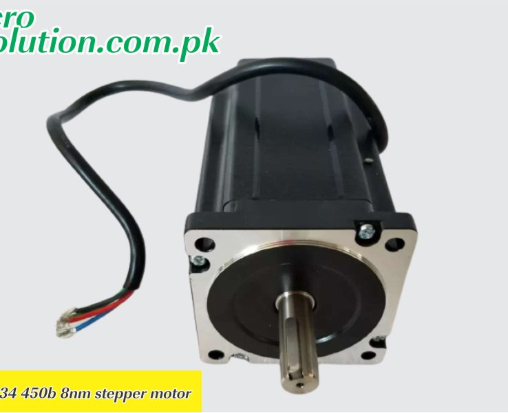 Nema 34 450b 8nm stepper motor in Hallroad Lahore