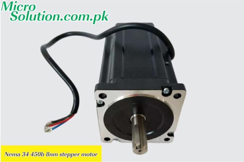 Nema 34 450b 8nm stepper motor in Hallroad Lahore