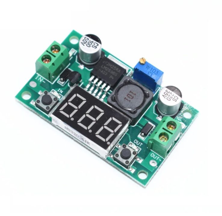LM2596-Step-Down-with-LED