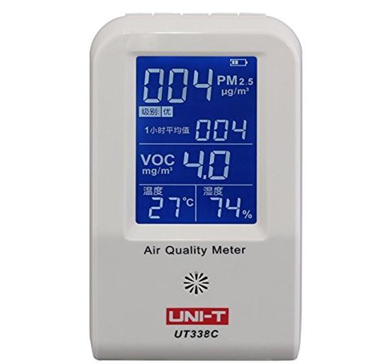 UNI-T UT338C Meter PM2.5 Air Quality Humidity Detector Temperature Monitor in Lahore Pakistan