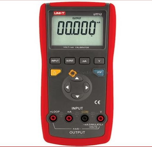 UNI-T UT712 voltage loop process calibrator meter