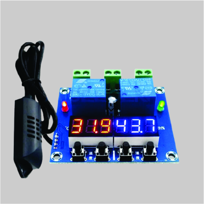 XH-M452 DC 12V LED Digital Thermostat Temperature Humidity Control Thermometer Hygrometer Controller Relay Module